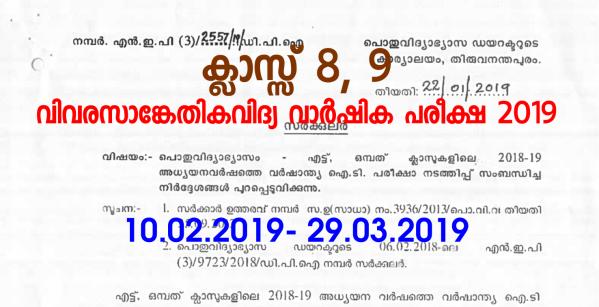 2019 HS Annual IT Exam